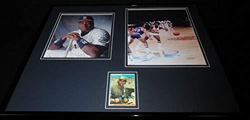 Tony Gwynn Signed Photograph - Framed 16x20 Set - JSA Certified - Autographed MLB Photos