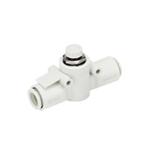 SMC AS1002F-04 flow control,inline w/fitting