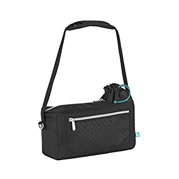Babymoov Premium Common Stroller Organizer | XL Storage, Full Zip Closure, Insulated Cup Holder and Sensible Cellphone/iPhone Pouch (FITS Most Strollers)