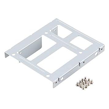 Disco duro de aluminio de 2 bahías SSD HDD de 2,5 pulgadas a 3,5 ...