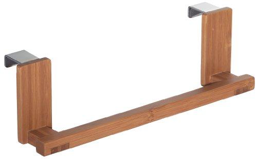 InterDesign Formbu Over-the-Cabinet Kitchen Dish Towel Bar Holder - 9.25