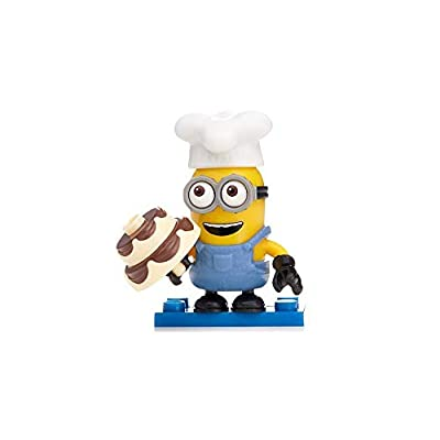 Mega Bloks Despicable Me Minion Made Mystery Minions Series 9 Mystery Pack: Toys & Games