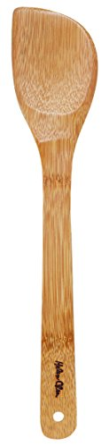 Left Handed Utensils (Helen's Asian Kitchen Left-Handed Natural Bamboo Stir Fry Spatula and Cooking Utensil, 13-Inch)