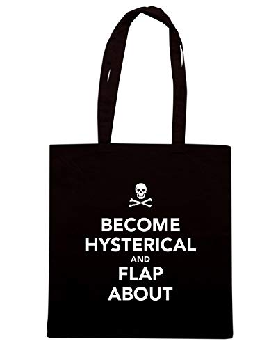 Nera Speed TKC3526 Shirt Borsa ABOUT AND BECOME HYSTERICAL Shopper FLAP fp7gt47qw