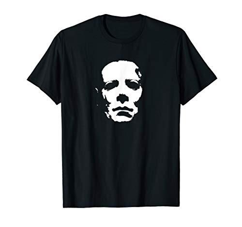 Mask Killer Classic Horror Movie Lover Halloween Shirt]()