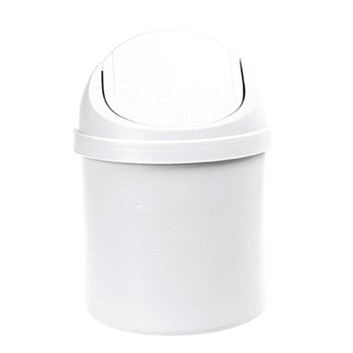 MONOMONO-Mini Multifunction Desktop Garbage Basket Table Trash Container Home - Ny Buffalo Malls