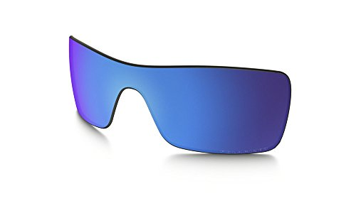 Oakley 101-514-008 Men's Batwolf Polarized Replacement Lenses, Sapphire Iridium - Batwolf Oakley Polarized