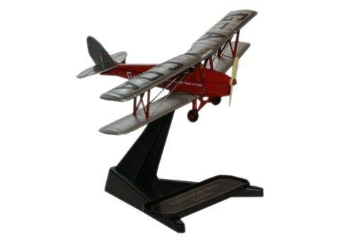 Oxford Diecast De Havilland Flying Club Tiger Moth GACDA