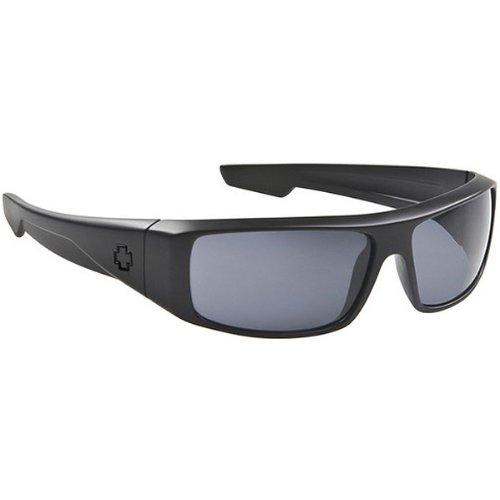 Spy Logan Sunglasses - Spy Optic Steady Series Fashion Eyewear - Color: Matte Black/Grey, Size: One Size Fits All