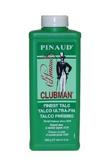 Pinaud Bath Talc (Clubman Pinaud Talc Powder-9 oz by Hair Motion BEAUTY)