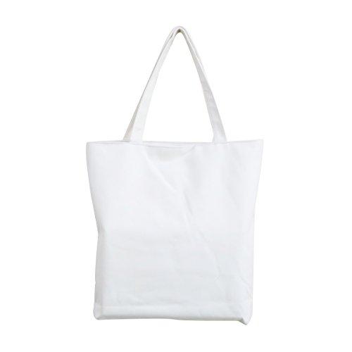 con mano de de mujeres de y notas Bolso la para reutilizable musicales lona compra Blanco bolsa niñas bolsa negro Ev5fqx6x