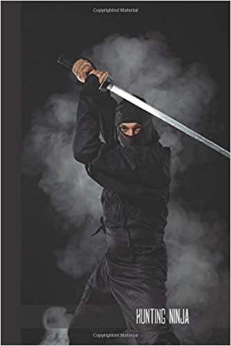 hunting ninja: small lined Ninja Notebook / Travel Journal ...