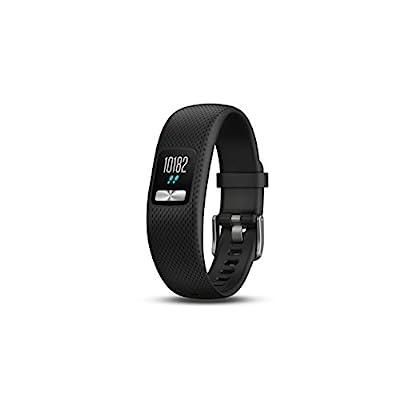Garmin vívofit 4 activity tracker with 1+ year battery life and color display. Small/Medium, Black. 010-01847-00