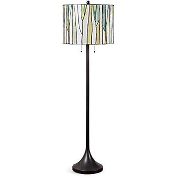 Hometrend barossa modern tiffany floor lamp tiffany lamp floor hometrend barossa modern tiffany floor lamp tiffany lamp floor lamp green audiocablefo