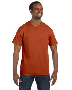 Jerzees Dri-Power Mens Active T-Shirt X-Large Texas Orange