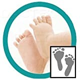 """""""Deluxe"""" Baby Inkless Footprint Kit with White Papers"""
