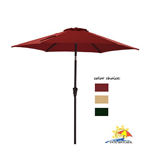 Patio Watcher Outdoor Market Umbrella
