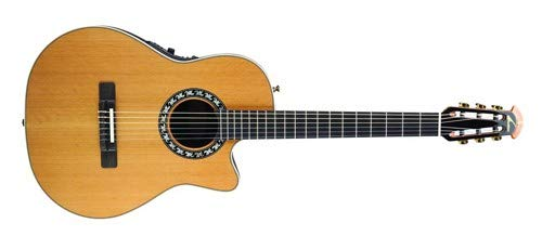 (Ovation Timeless Collection Legend Nylon Mid Depth - Natural Cedar)
