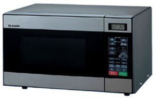 Sharp R-299 Microwave Oven, Stainless Steel (220V - Not for USA Voltage)