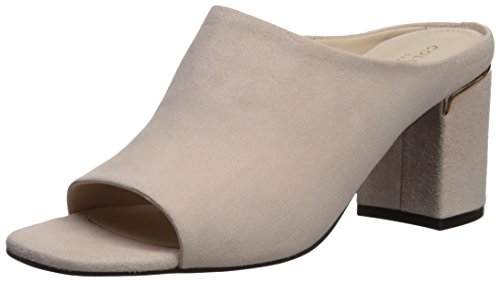 Cole Haan Mujeres Laree Open Toe Mule Peach Blush Suede
