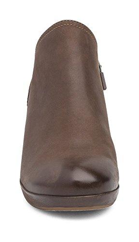 Dansko Women's Marcia Ankle Boot Teak Burnished Nubuck get authentic CXn5I5