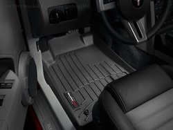 WeatherTech Custom Fit Front FloorLiner for Ford Mustang ()