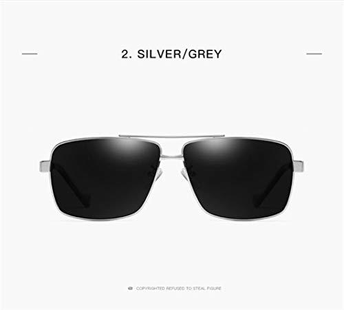 Protección Clásico Blackframe Los Polarizados Vintage Pilotos Sol Estilo De De Gafas Hombres 400 UV x4zwzP