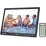 Digital Photo Picture Frame, Andoer 15 inch Digital Picture Frame 1280x800 HD Resolution 16:9 Wide Picture Screen Offers a Clear and Distinct Display