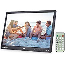 Digital Photo Picture Frame, Andoer 15 inch Digital Picture Frame 1280x800 HD Resolution 16:9 Wide Picture Screen Offers a Clear and Distinct Display from Andoer