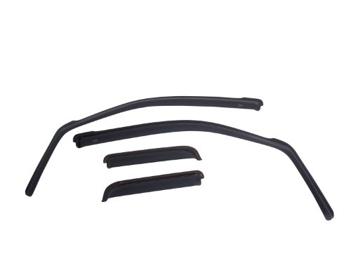 EGR 570031 Window Visor, Dark Smoke, 4 Piece