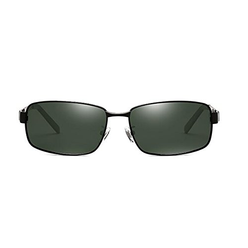 Black de para Gafas genuino Black Chapado de HONEY dark calidad de dark polarizadas sol alta conducción conductor Gafas green green de hombres Color w5qwITd