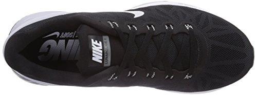 Nike Zapatillas Para Correr Lunarglide 6 Para Mujer Negro Blanco Pure Platinum Cool Grey 001