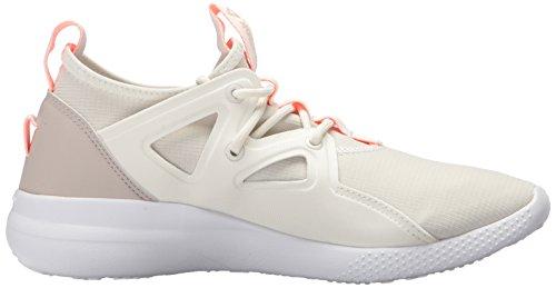 Reebok Womens Cardio Motion Sneaker Gesso / Pietra Di Sabbia / Melone Aspro / Bianco