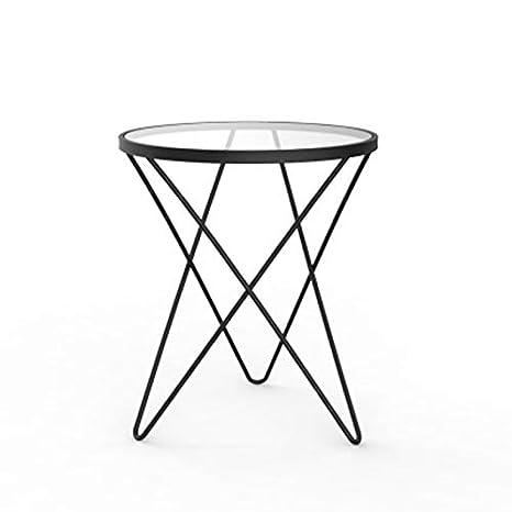 Amazing Amazon Com Coffee Table Simple Round Sofa Side Table Inzonedesignstudio Interior Chair Design Inzonedesignstudiocom