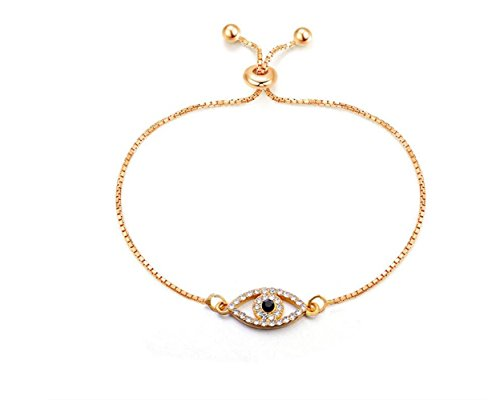 Zhahender Wonderful Jewelry Gift European and American Style Retro Fashion Simple Bracelet-Eye of Devil