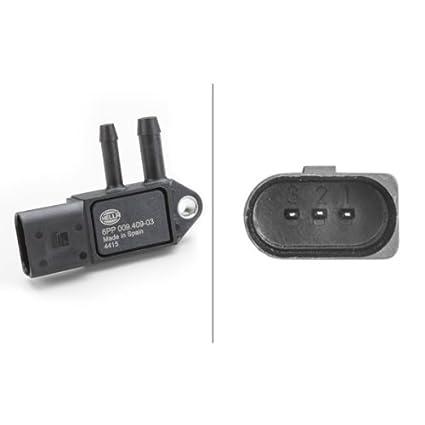 HELLA 6PP 009 409-031 Sensor, presión gas de escape, atornillado