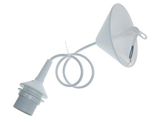 Niermann Standby Pendant Lamp Holder for Item 154 + 153, White - 153 Pendant