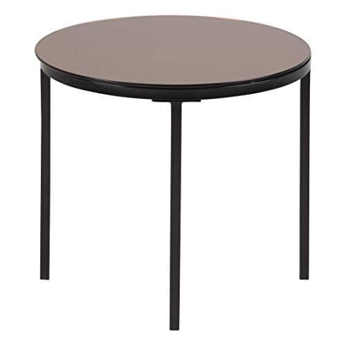 chollos oferta descuentos barato Amazon Brand Movian Gauja Mesa de centro 50 x 50 x 45 cm largo x ancho x alto marrón