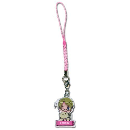 Hetalia Axis Powers - Canada Cell Phone Charm by Hetalia (Cellphones For Canada)