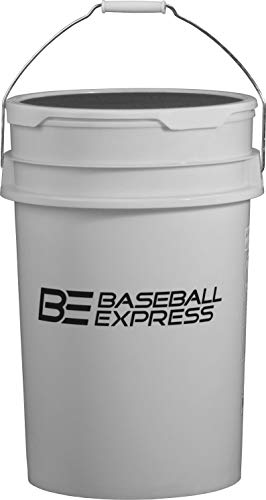 ty Ball Bucket with Padded Lid White ()