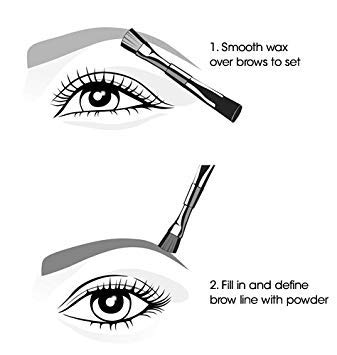 Avon Perfect Eyebrow Kit Deep Brown T103