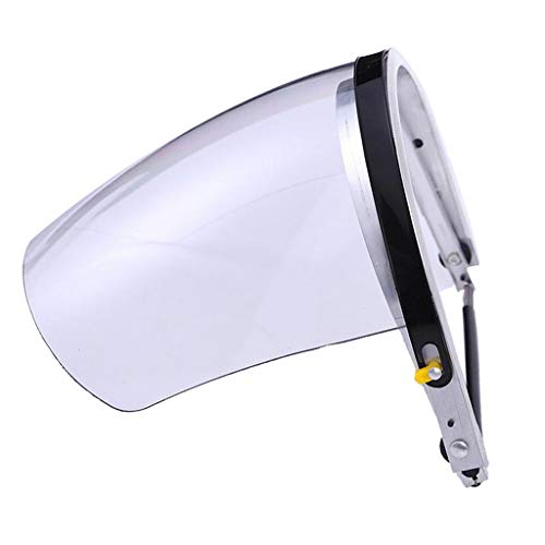 Flameer Welding & Grinding Equipment Eye Face Protection Engineering Plastic Mask - White by Flameer (Image #7)