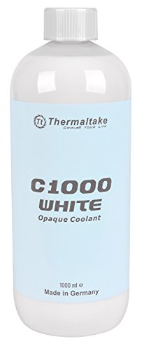 Squeezable Case (Thermaltake C1000 1000ml Vivid Color Computer Water Cooling System Coolant CL-W114-OS00WT-A, White)