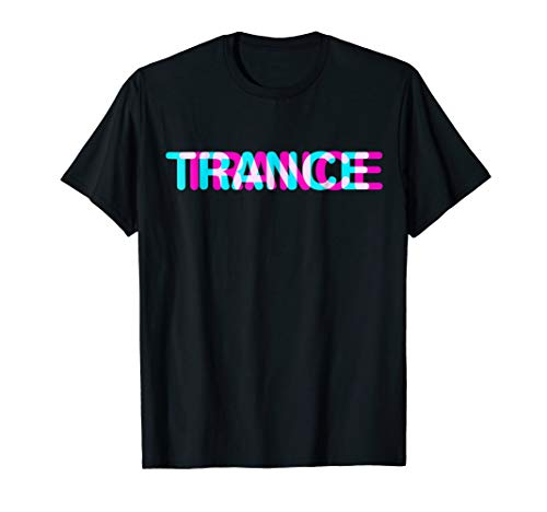 Trance t-shirt music disco sound shirt
