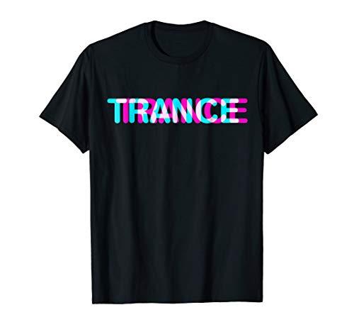 (Trance t-shirt music disco sound shirt)