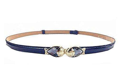 Koala Superstore Los niños de cinturón de Pescado Crystal Skirt Belt Hermosa Correa Decorativa, Azul Marino