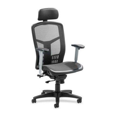 Lorell High Back Chair, Mesh, 20-7/8
