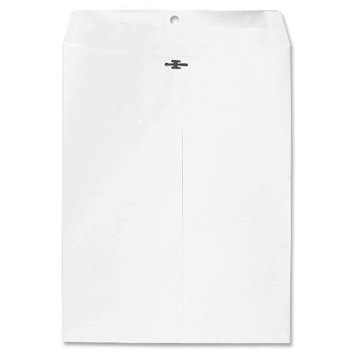 Sparco Clasp Envelope, 28 lbs, 10 x 13 Inches, 100 per Box, White (SPR01368)