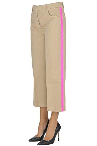 The Editor Pantaloni Donna MCGLDNM03023E Cotone Beige