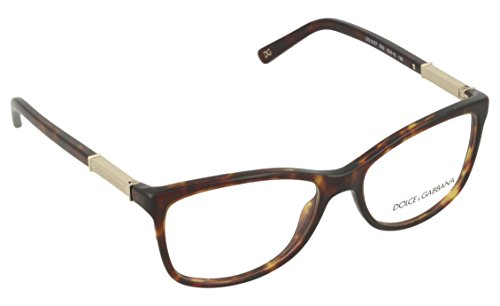 Dolce & Gabbana Women's DG3107 Eyeglasses Havana 52mm